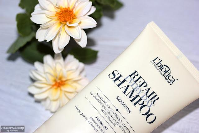 L'Biotica Professional Therapy  intensywnie regenerujący szampon do włosów zniszczonych ze skłonnością do wypadania