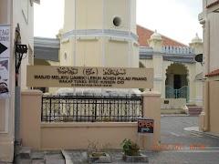 Istimewa, Sejarah Masjid Tertua di Pulau Pinang