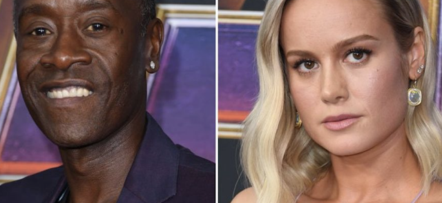 Don Cheadle stands by Brie Larson after body language expert slams her Marvel press tour
