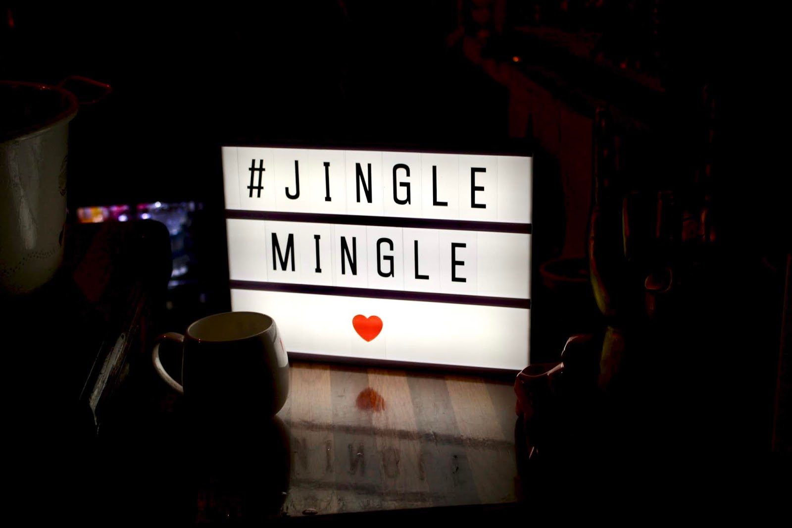 Prezzybox Jingle Mingle Light Box