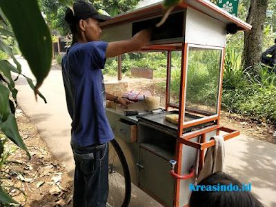 Jasa pembuatan Gerobak Besi Roti Bakar di Jakarta dan sekitarnya