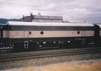Burlington Northern F9-2 BN-2 in Kelso, Washington