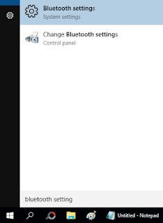 Cara Mengirim File Lewat Bluetooth laptop windows 10