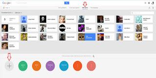 google+ как содать новый круг
