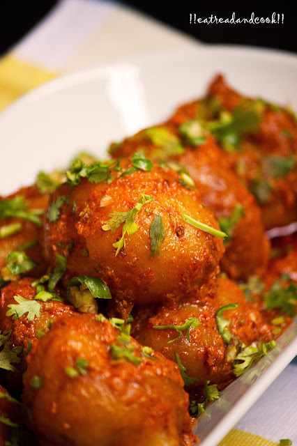 how to make dum aloo with yogurt recipe