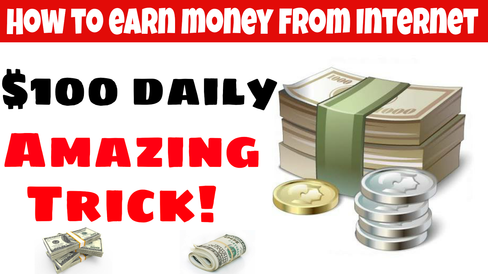 How to earn money on the Internet without investments, at least 100 rubles per hour