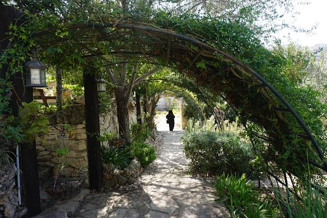 חצר בכפר הדרוזי - בית ג'אן