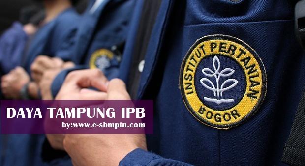 Daya Tampung IPB SBMPTN