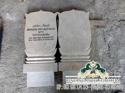 Batu Nisan Marmer Tulungagung Murah, Harga Batu Nisan Islam