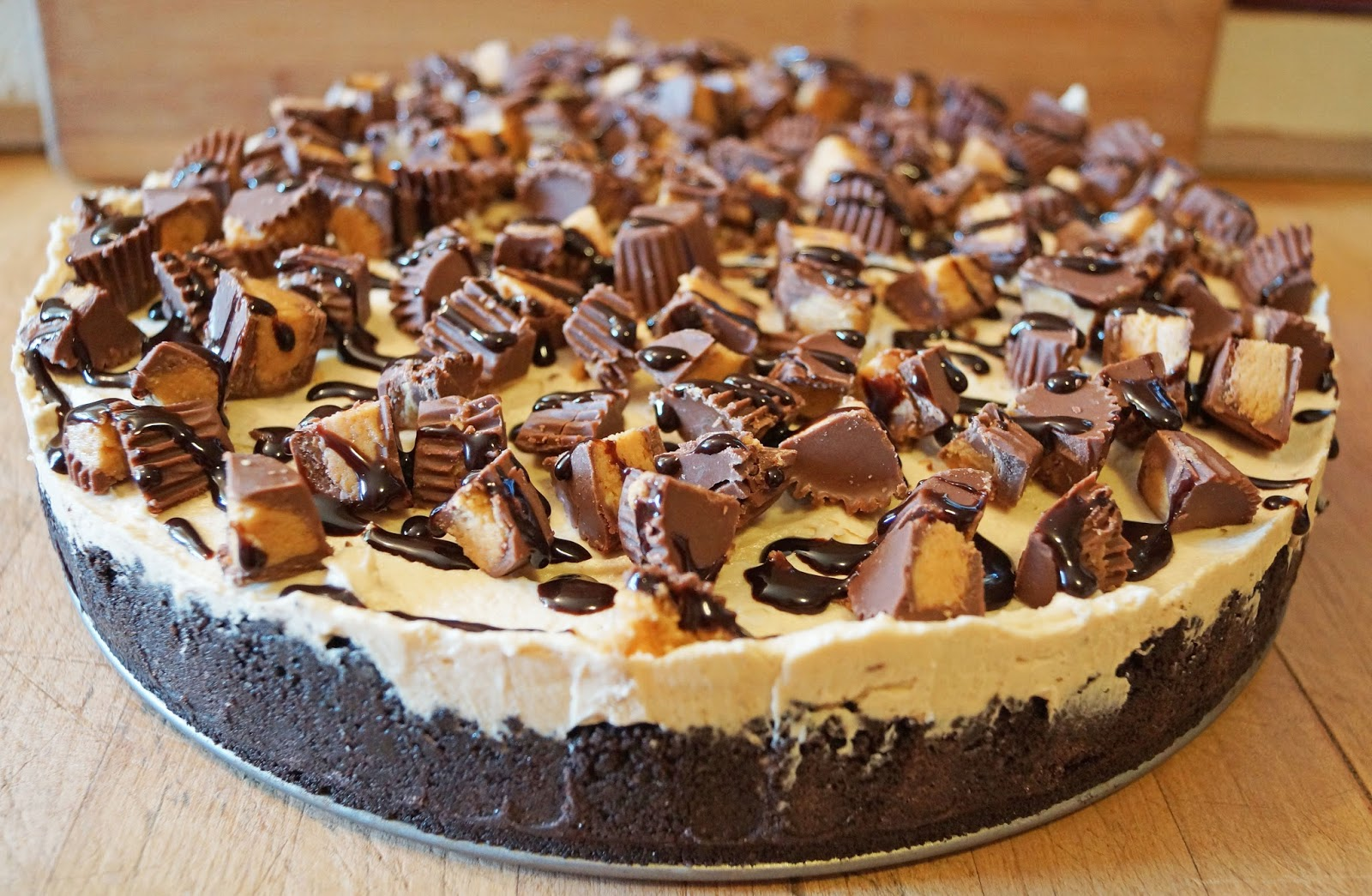 Mad Meat Genius Reese S Peanut Butter Cheesecake