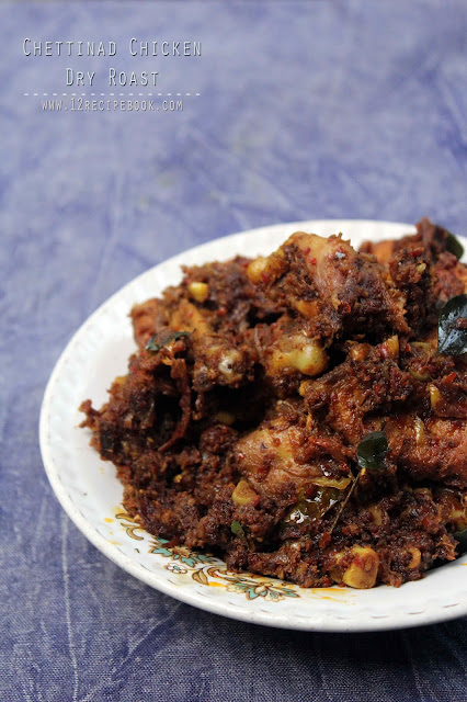 Chettinad Chicken Dry Roast