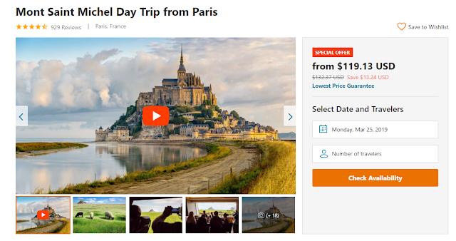 Paris to Mont-Saint-Michel – Organized Tour Vs. Public Transportation