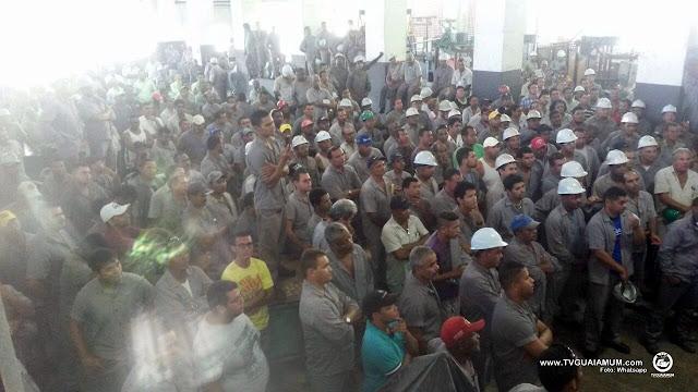 Funcionários da Santa Teresa deflagram greve devido ao atraso salarial
