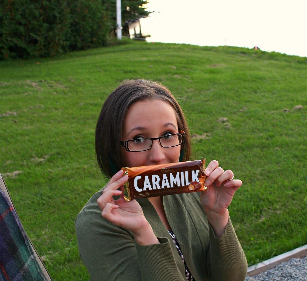 Caramilk bar s'more