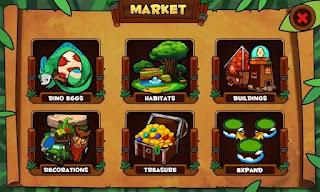 Dino Island APK Android Gratis Download Game Laga
