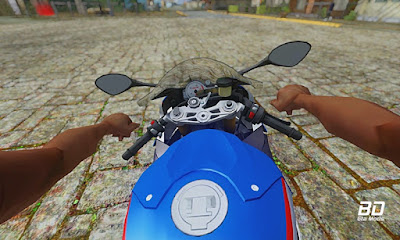 Download mod moto BMW S1000RR 2018 para GTA San Andreas, GTA SA PC