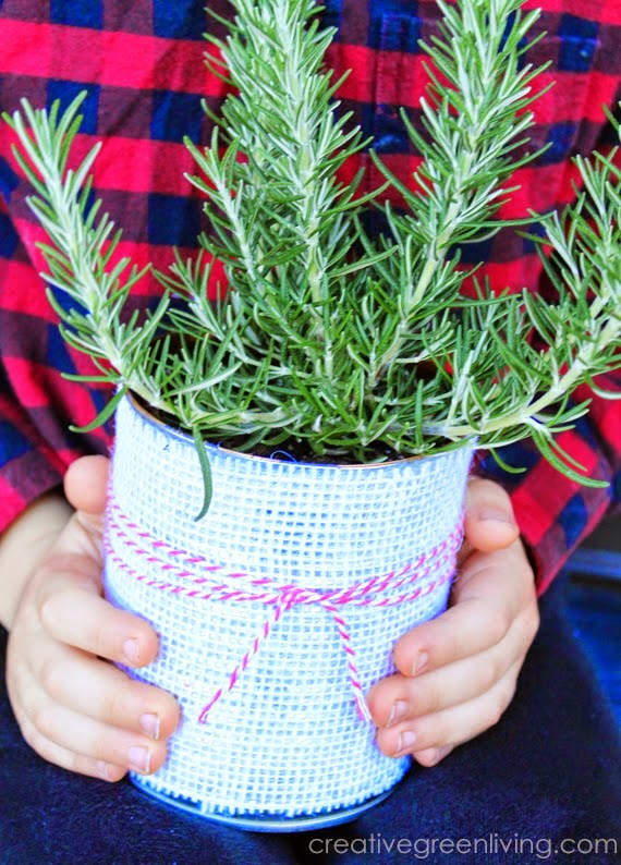 adorable upcycled planter kids crafts