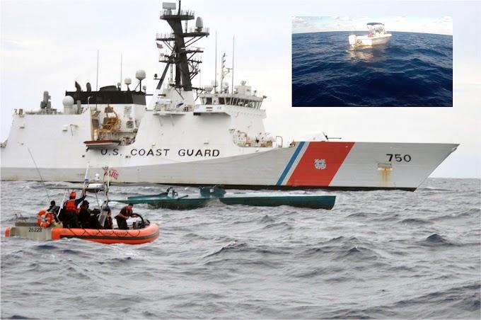 Guardia Costera de EEUU  detiene dominicano en barco tratando de llegar ilegalmente  a Florida