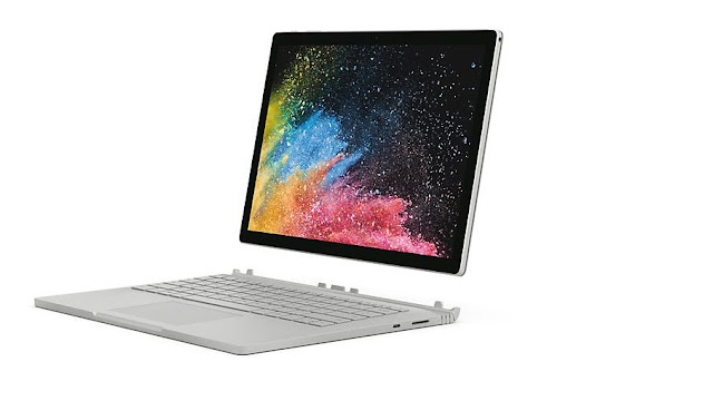 MICROSOFT SURFACE BOOK 2- best-laptops-in-india
