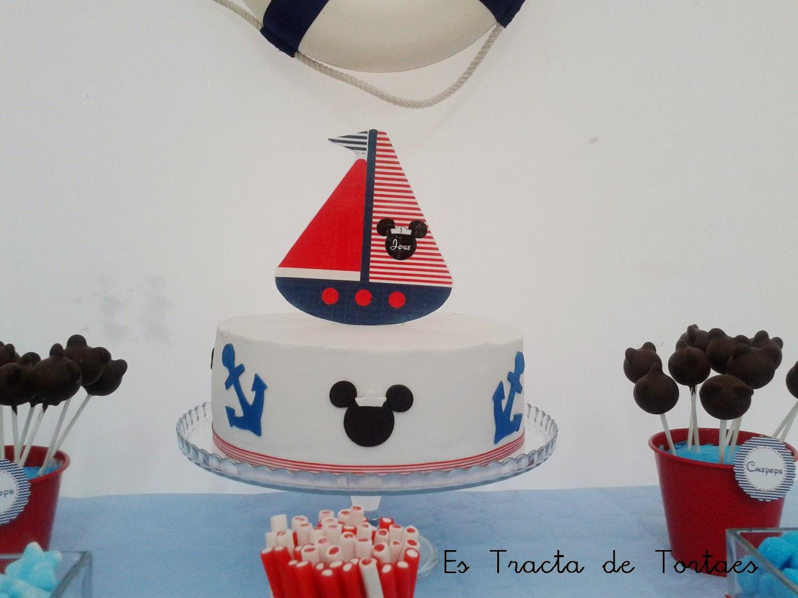 Es Tracta De Tortaes Fiesta Mickey Mouse Marinero