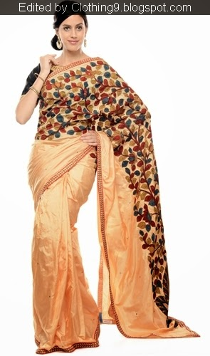 Indian Kalamkari Silk Saree 2015-16