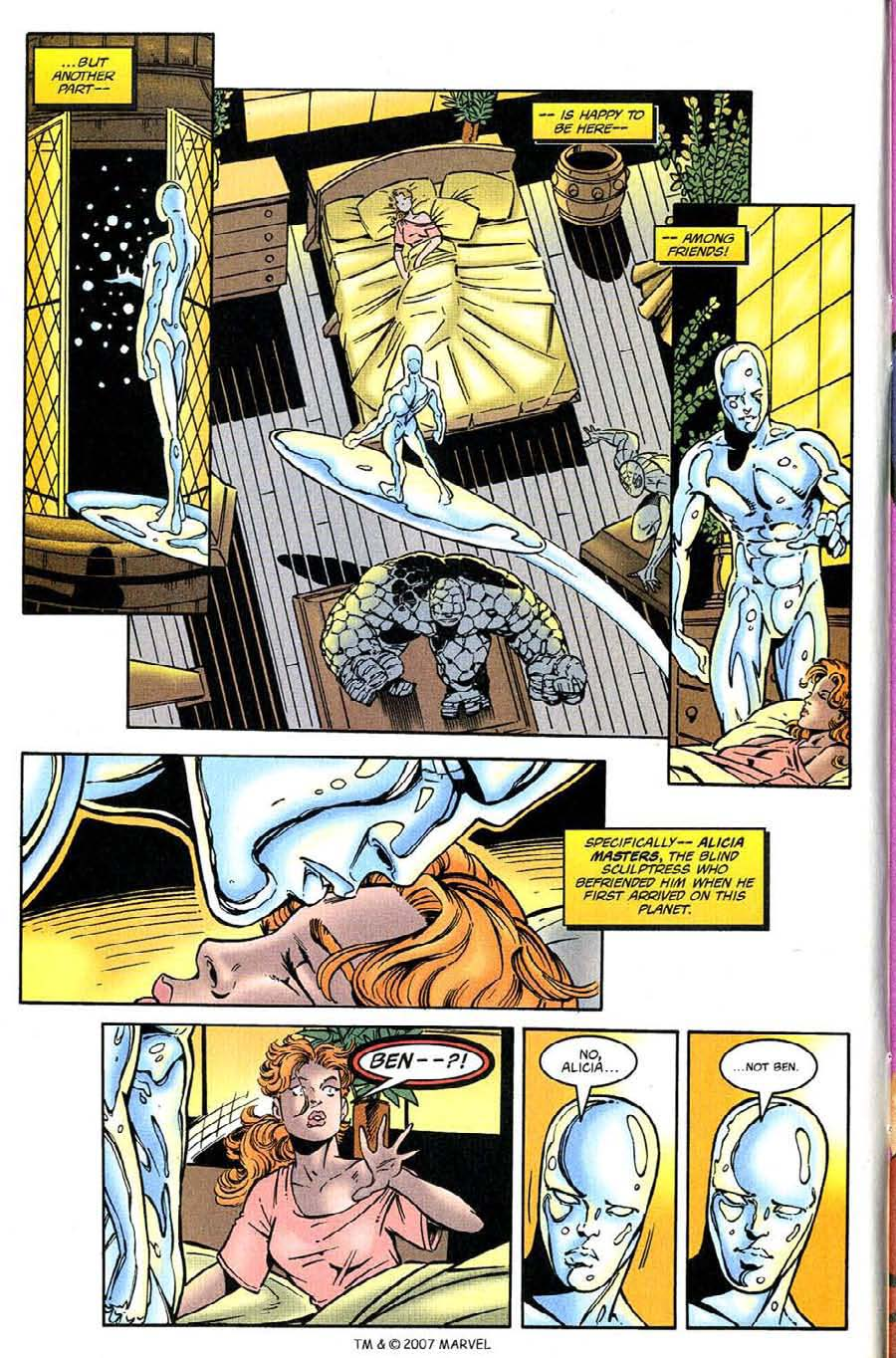 Read online Silver Surfer (1987) comic -  Issue #132 - 10