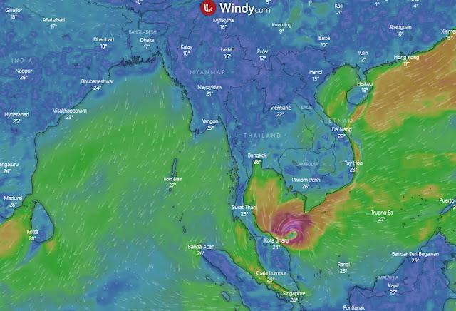 Tropical Storm Pabuk
