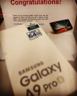 HSBC Malaysia; Free Samsung Pro A9; Samsung A9 pro; Alicia Shaklee; business shaklee