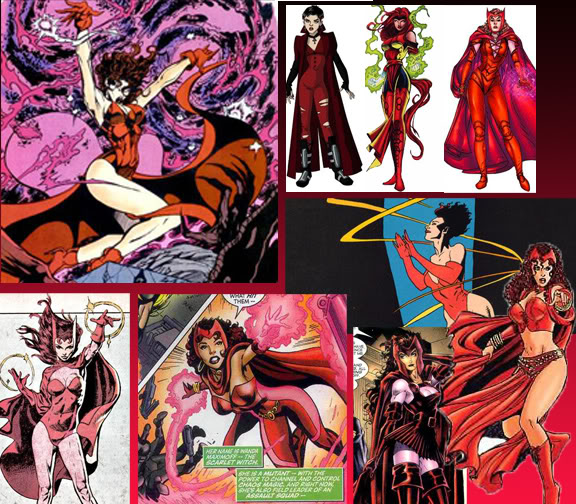 FoxCat's Life: Superheroines and Supervillanesses of Marvel