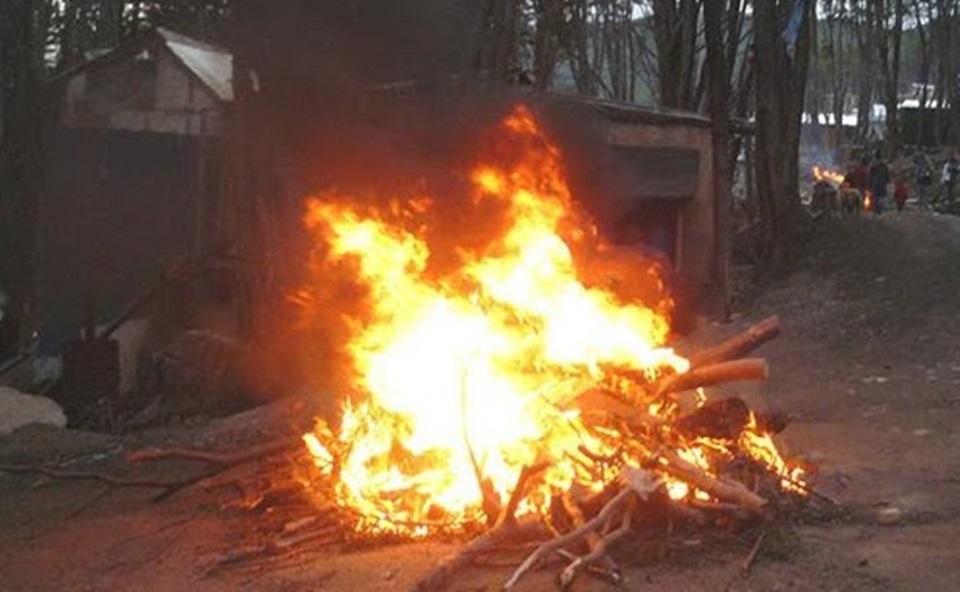 Denuncian quema de bosques en Ushuaia