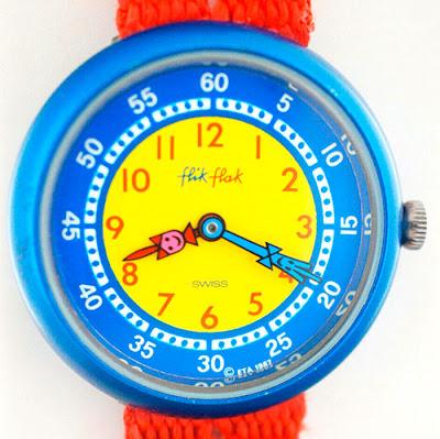 Reloj infantil Flik Flak 1987