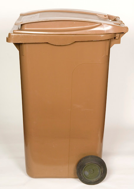 Brown bin
