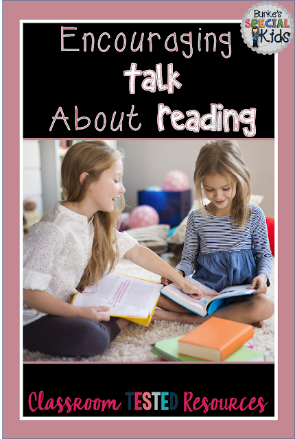 Encouraging kids to talk about reading