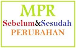 Apa beda MPR Sebelum dan Sesudah Amandemen?