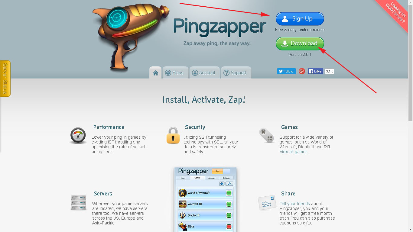 How To Add Blade & Soul To Pingzapper ☆ WTFast Alternative