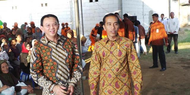 Ahok Harap Masyarakat Kembali Pilih Jokowi pada Pilpres 2019