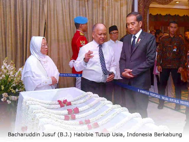 Bacharuddin Jusuf (B.J.) Habibie Tutup Usia, Indonesia Berkabung