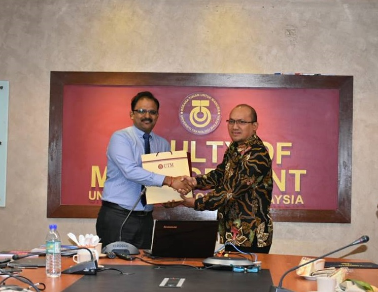 STIE Putra Bangsa Kunjungi Universiti Teknologi Malaysia