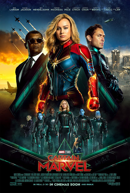 Captain Marvel international poster