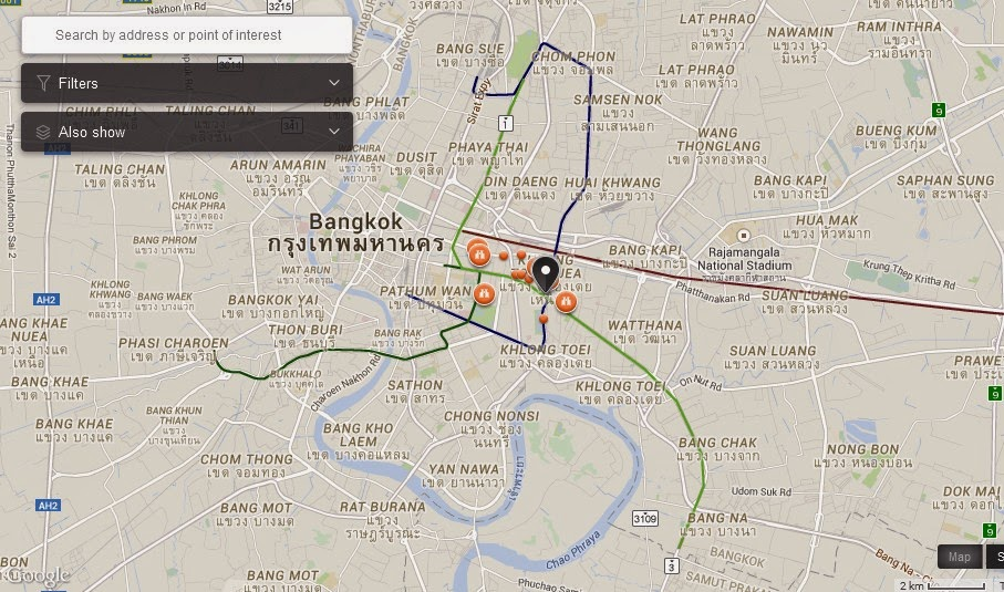 Arbora Spa Bangkok Map,Map of Arbora Spa Bangkok,Tourist Attractions in Bangkok Thailand,Things to do in Bangkok Thailand,Arbora Spa Bangkok accommodation destinations attractions hotels map reviews photos pictures