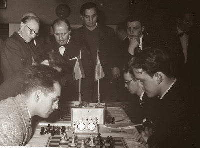 Jaume Mora en la Olimpíada de Ajedrez Tel Aviv 1964
