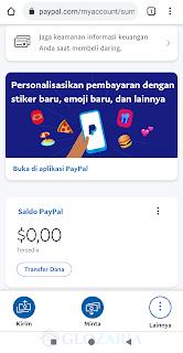 Verifikasi Paypal Dengan e-card Jenius BTPN