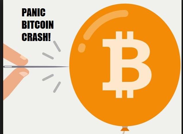 Pánico: El Bitcoin se deploma por debajo de los 10.000 dólares