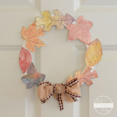EASY leaf craft for kids
