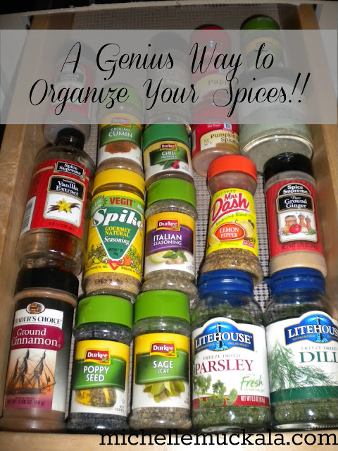31 Days of Declutter - Day 16 - Spice Cupboard