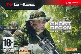 Tom Clancys Ghost Recon - Jungle Storm N-Gage