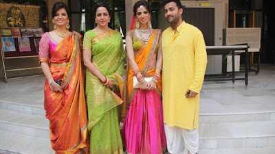 Hema Malini at Nishka Lulla wedding