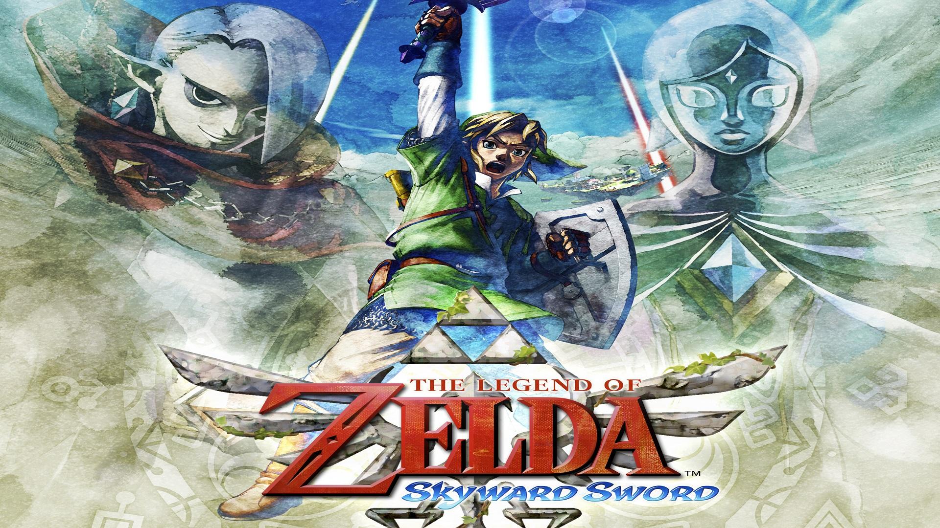 the legend of zelda skyward sword wallpapers read games