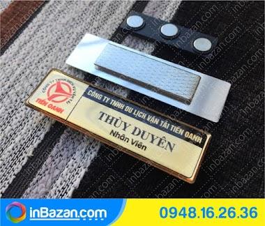 In Bazan | Bảng tên nhân viên chuyên nghiệp tại BMT Daklak