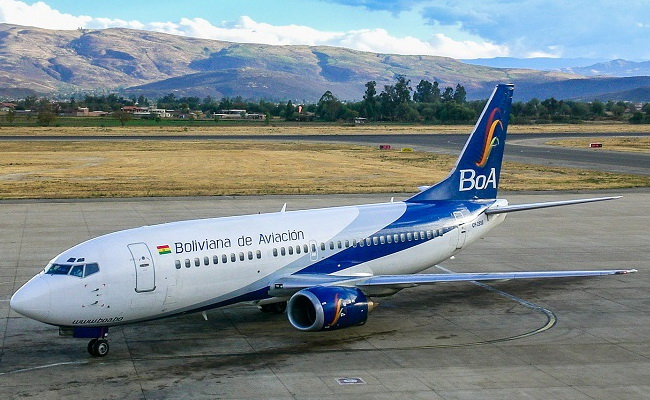 Xvlor List of airports in Bolivia